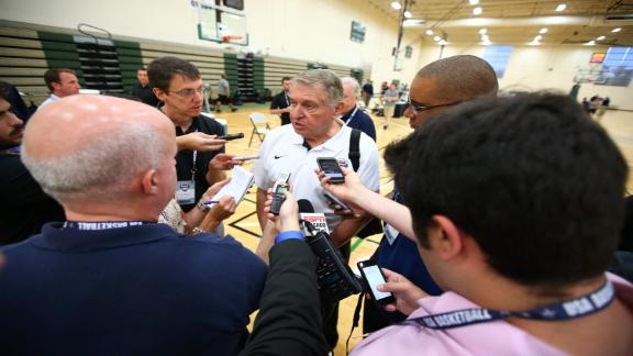 USA Basketball Cancels Trip Over Ebola Concerns