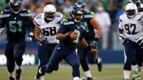 Video - Wilson, Seahawks Cruise Past Chargers