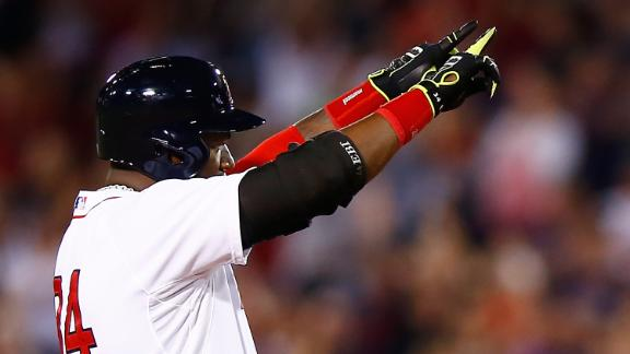 Ortiz Hits 400th Homer With Red Sox