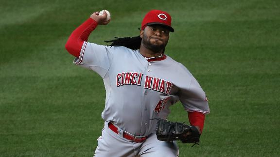 Cueto Grabs 15th Win