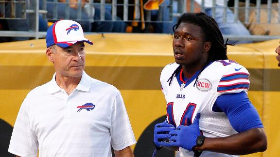 Watkins Suffers Rib Injury In Bills' Loss