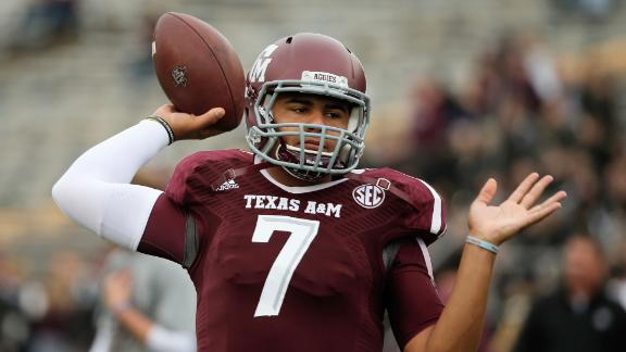 Hill Named Texas A&M's Starting QB
