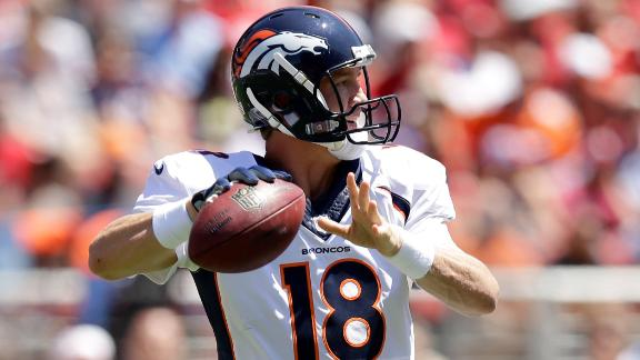 Video - Manning Sees Improvement From Broncos