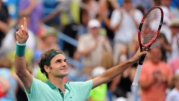 Federer Claims 80th Career Title