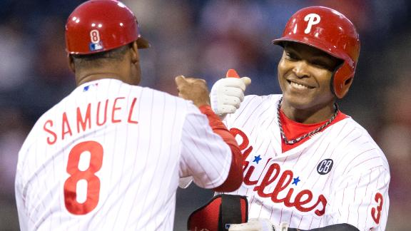 Phillies Snap Skid