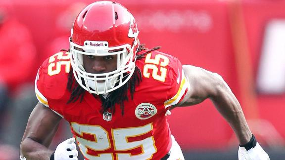 Chiefs' Charles Injures Foot Leaving Camp