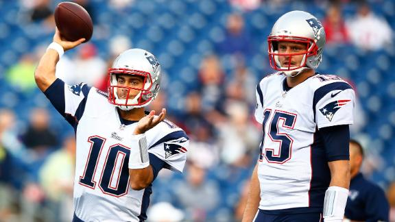 Patriots' Backup QB Competition