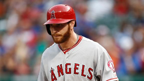 Angels OF Hamilton sits out 2nd game in row