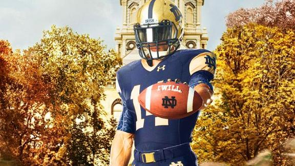 New Notre Dame Uniforms Revealed