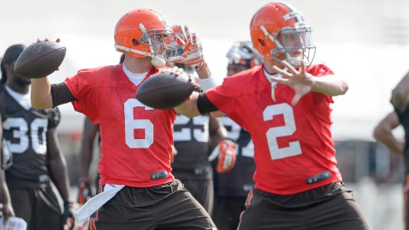 Browns Not Ready To Name Starting QB