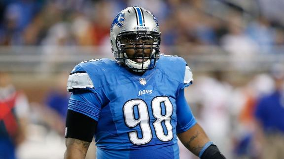 Lions Demote DT Fairley