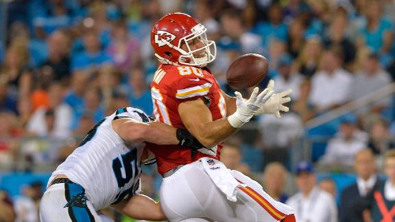 Chiefs Tight Ends On Upswing