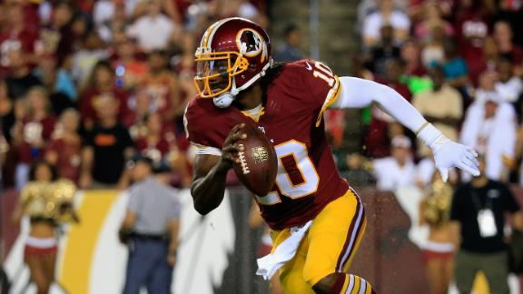 Redskins' Griffin Must Use Caution