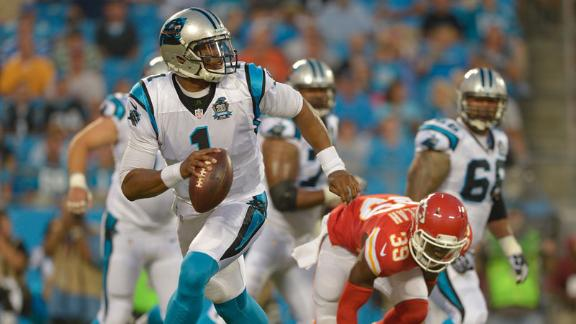 Cam Newton Focused On Next Test Vs. Patriots