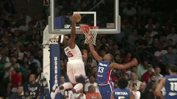 Video - Drummond's One-Hand Alley-Oop Dunk