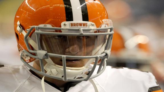 Pettine Decision About Manziel's Play or Attitude?