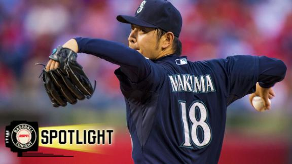 Video - Iwakuma Pitches Mariners Past Phillies