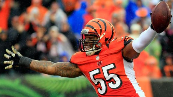 Video - Bengals Extend OLB Vontaze Burfict