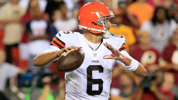 Browns Tab Brian Hoyer As Starter