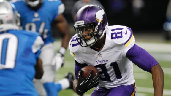 Vikings Have Depth At WR