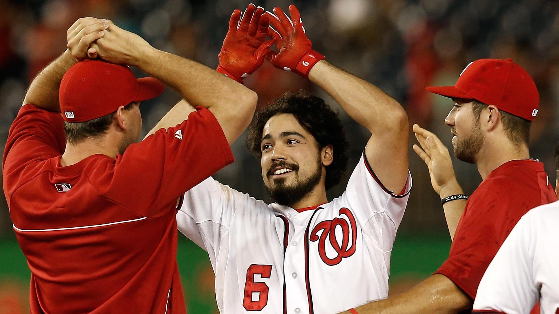 Video - Nationals Walk Off Against Diamondbacks