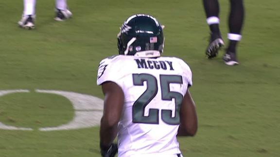 Video - McCoy, Eagles Top Steelers
