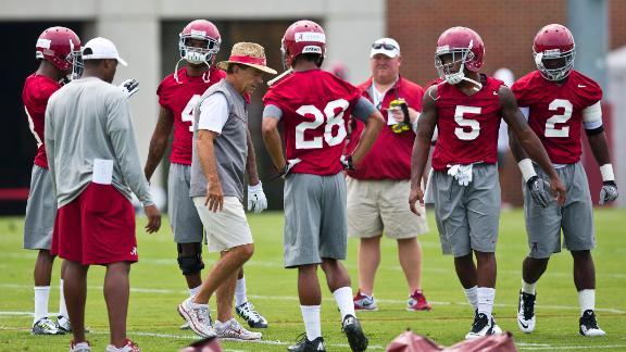 Concerns For Alabama's Offense?