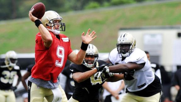 Brees To See Game Action Against Colts
