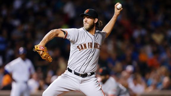 Bumgarner, Giants Stifle Cubs