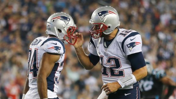 Brady, Pats Top Panthers