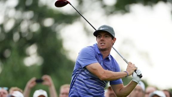 Rory Surges At The Barclays