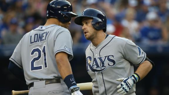 Smyly throws 2-hitter as Rays crush Jays