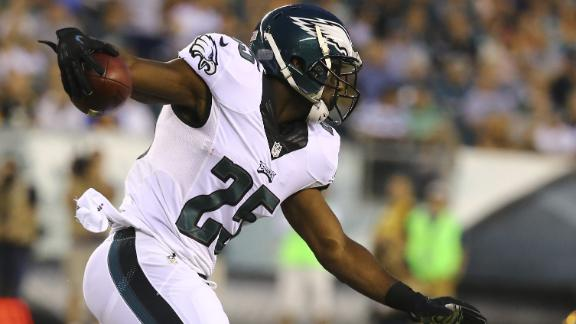 LeSean McCoy Has Sprained Thumb