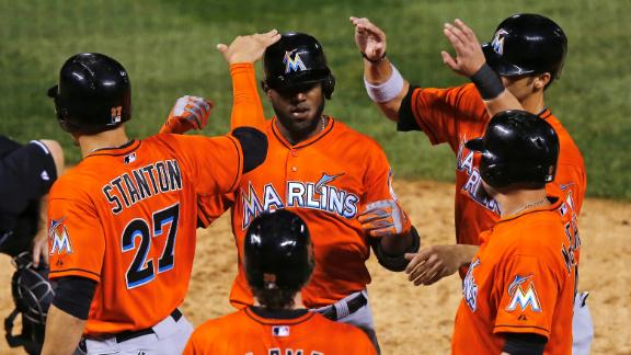 Video - Ozuna Hits Grand Slam In Marlins' Rout
