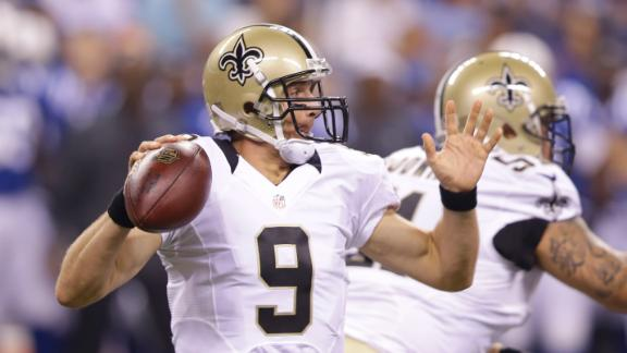 Brees Sharp In Preseason Debut