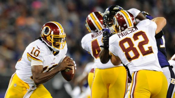 RG III Struggles In Loss
