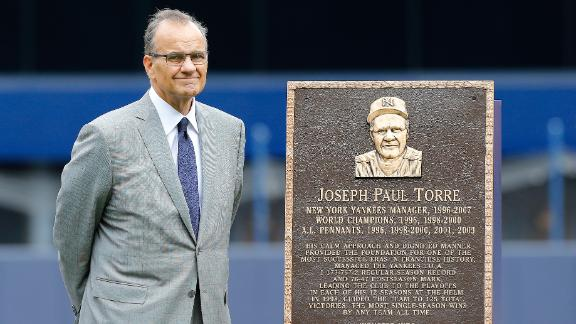 Torre Honored In Yankees' Win