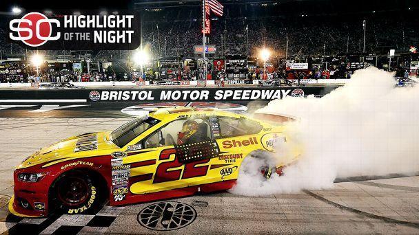 Joey Logano Wins At Bristol