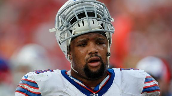 Video - Bills Cut Alan Branch