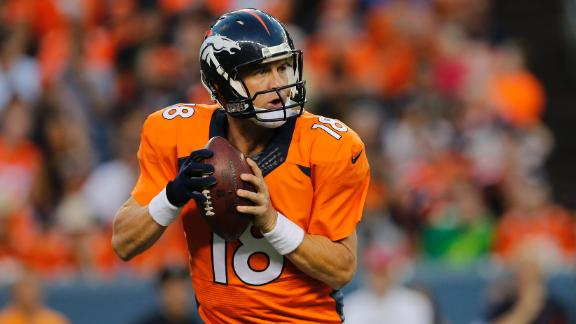 Manning Sharp In Broncos' Loss
