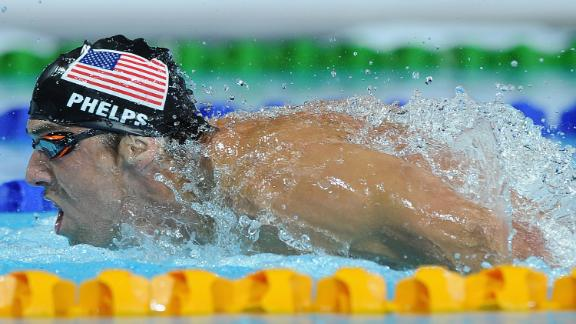 Phelps Wins Third Gold Of Comeback