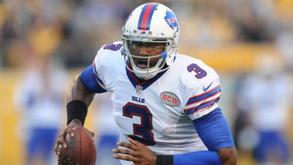 Bills cut QB Lewis to make room for Palmer