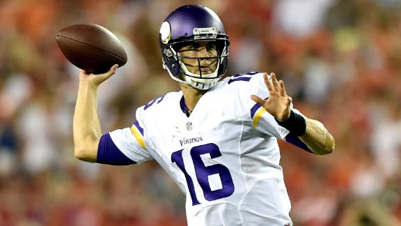 Vikes to start Cassel over Bridgewater at QB