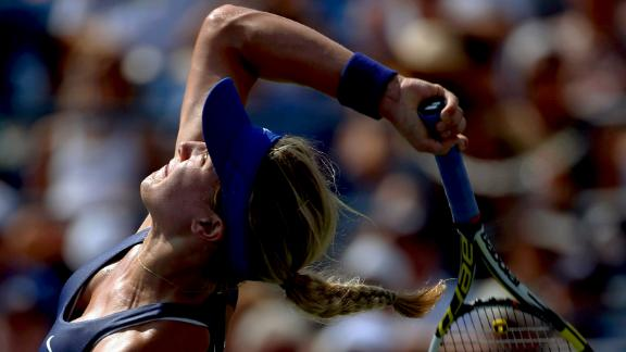 Bouchard Cruises Into Second Round