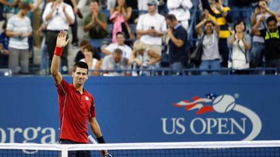 Djokovic Eases Into Second Round
