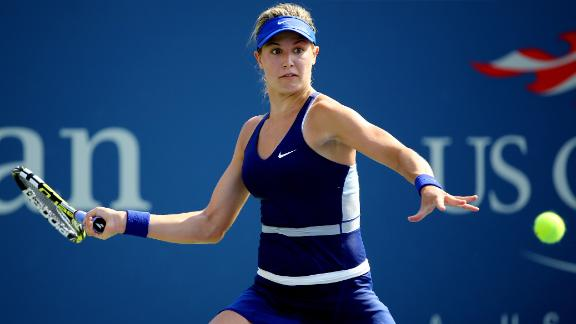 Bouchard Into Second Round