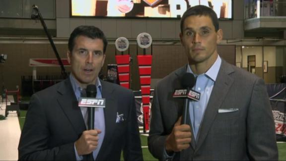 Rece Davis, David Pollack on Josh Shaw