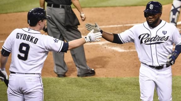 Padres Push Past Brewers