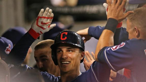 Video - Indians Win In Extra Innings