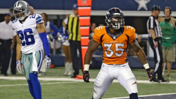 Video - Bibbs Rushed For Two TDs In Broncos' Win